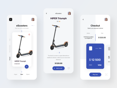 Hiper Triumph Escooters Shop App