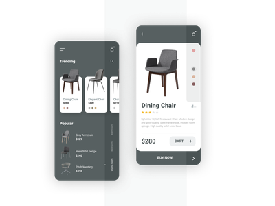 Furniture Store Mobile Application store shopping shop furniture store furniture ecommerce mobile app interface app ux ui