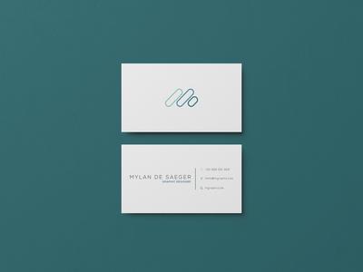 Businesscard design M-Graphics