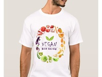 T-shirt Veganandproud