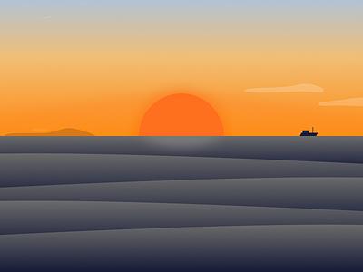 Waves desktop 8k minimal gradient waves nature wallpaper