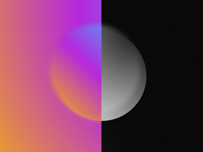 Cotton Candy & Licorice blur design gradient minimal 8k wallpaper desktop
