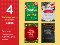 Christmas-party-Invitation Cards