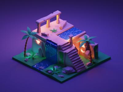 Ruin Scene