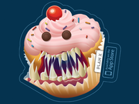 Sweet Tooth Sticker
