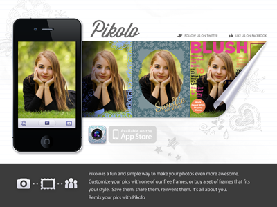 Pikolo Site website mobile app camera photos