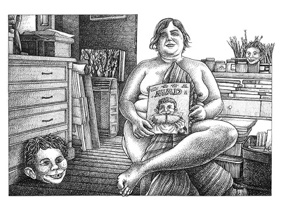 Rosana Santoro emiliano raspante ink wash pen art blanckandwhite character art characterdesign illustration art illustration draw comicart