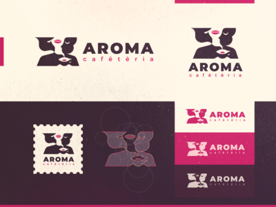 Aroma sexy warm hot perfume odor smell aroma bistrot tea drink mouth girl woman coffee café