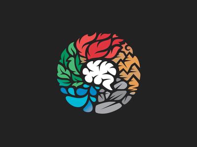 5 Elements + Brain // Vector