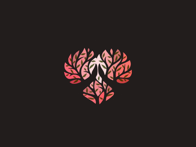 Burning Bush // All good things come to those who pray amen spirit holy holyspirit dove god fire flame bible leaf leaves tree plant heart bush burning moses prayer pray