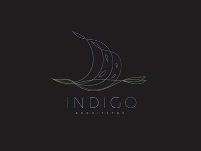 Indigo line logo