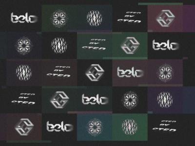 15/15 #LL Mark Milestone ⠀ negative space logolounge logo thunder sphere noise typography geometric corners twinkle illusion letter bolt shadow chiseled