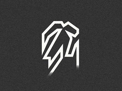 Ibex //02 up logodesign logo capra profile silhouette bolt abstract geometric climbing rock moutain pinnacle peak ibex