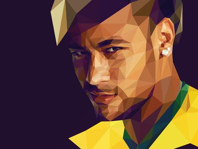 Poly Neymar Jr. #BRA neymar worldcup fifa 2014 brazil champion soccer futebol brasil player