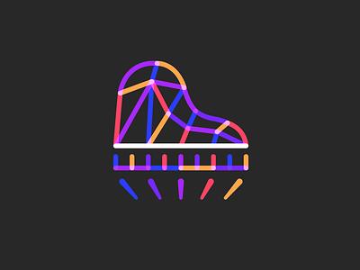 Letícia Fais Logo design identity branding logotype logodesign multiply lines teacher logo spot light spotlight keys song musical lesson learning studio music piano