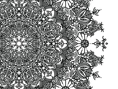 Mandala mandala symmetry geometric process method illustrator