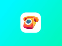 Fone Poly Icon