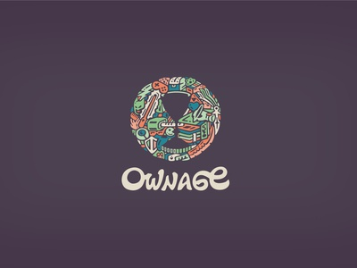 Ownage Logo ownage own age action figures prototype game gamers art toys featured logodesigner logodesign visual identity breno bitencourt bitencourt breno logotype logotipo identity identidade visual identidade de marca design studio design brazil brasil branding brand identity brand logo