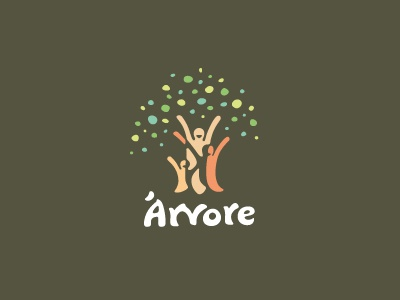 Logo da Árvore Árvore tree people crowd family happiness party featured logodesigner logodesign bauru visual identity breno bitencourt bitencourt breno logotype logotipo identity identidade visual identidade de marca design studio design brazil brasil branding brand identity brand