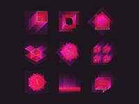 Square & gradient
