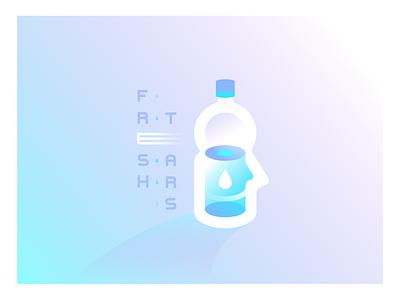 Fresh Tears face bottle eye cry hydration hydrate crying fresh tears