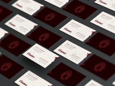 Flamo // business card presentation