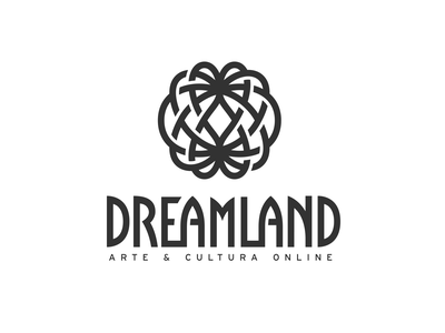 Dreamland //Type digital art culture land dream logotype lettering tipografia typography custom type