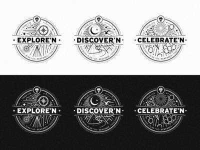 3 Badge Illustrations