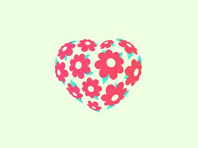 Heartblossom bouquet flower blossom love heart
