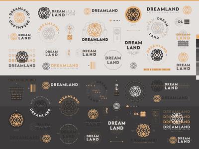Dreamland - Logo Compositions