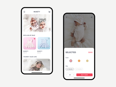 Infant App 设计 ui