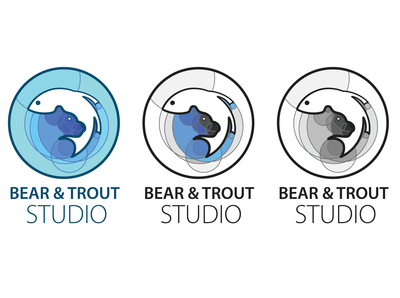 Bear and Trout logo