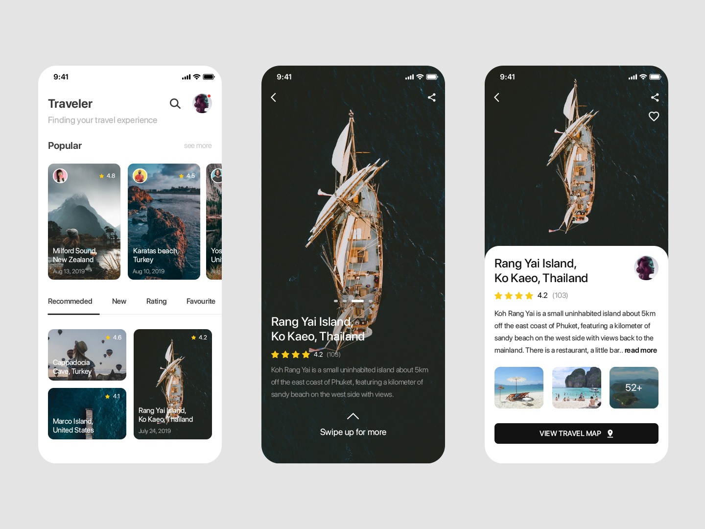 Traveler ux ui mobile ui prototypes mobile design design app