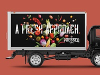 Pressed - Truck Wrap