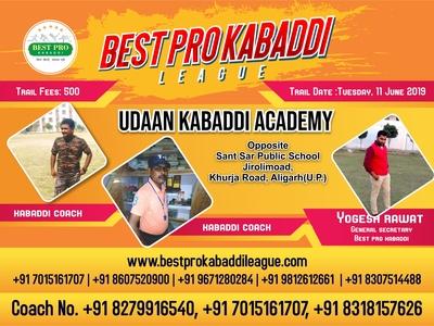 Best Pro Kabaddi Poster