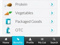 Healthy Food Options and menu