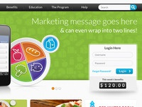 Marketing Site for Mobile Product