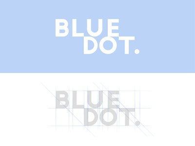 Blue Dot Logo Design