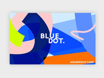 Bluedot Membership Card