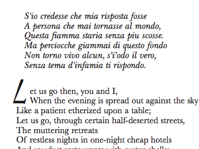 The Love Song of J. Alfred Prufrock Interior
