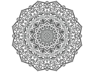 mandala mandala art mandala vector illustrator design