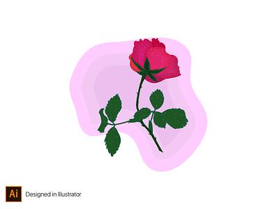 flower illustration illustrator design