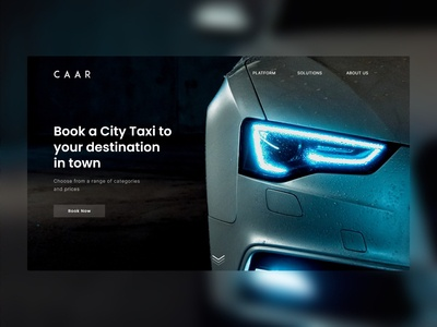 CAAR - Landing Page