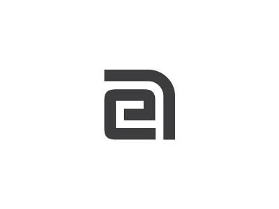 EA monogram ea sign logo monogram letter a e