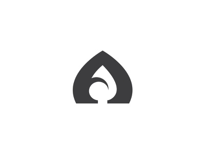 Aqua • Letter A aqua branding mark logotype logo minimal lettermark wave water letter a drop