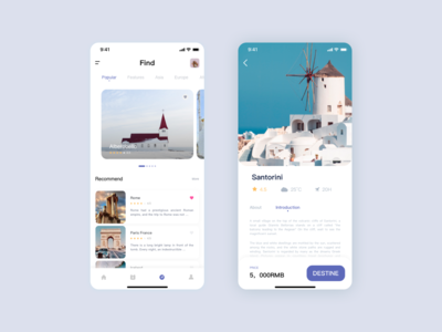 Traveling Page