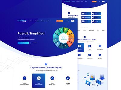 Devine IT Website Design infographic language typography user interface design creative clean webdesign web design landing page web branding payroll website design ui ux
