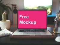 Free Macbook Mockup Late 2017