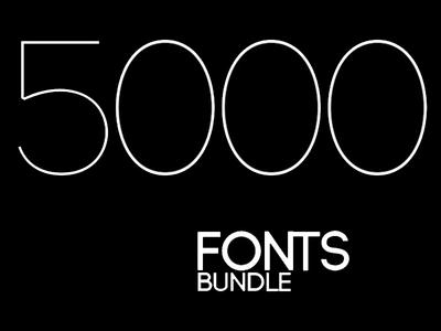 5000 Fonts Bundle 5000 fonts bundle package fonts package fonts bundle