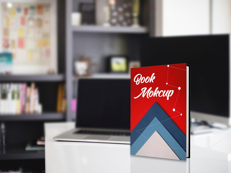Realistic Hardcover Book | E-Book Mockup free mockups free psd download ebook book mockup free mockup